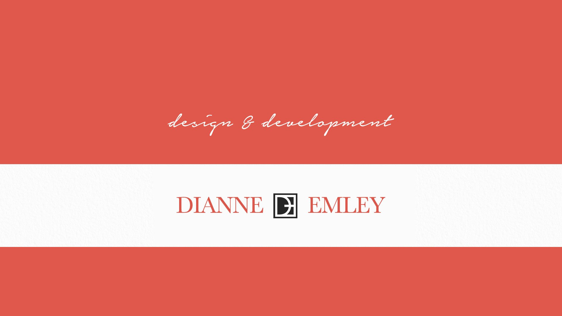 A Photo of Dianne Emley's Logo