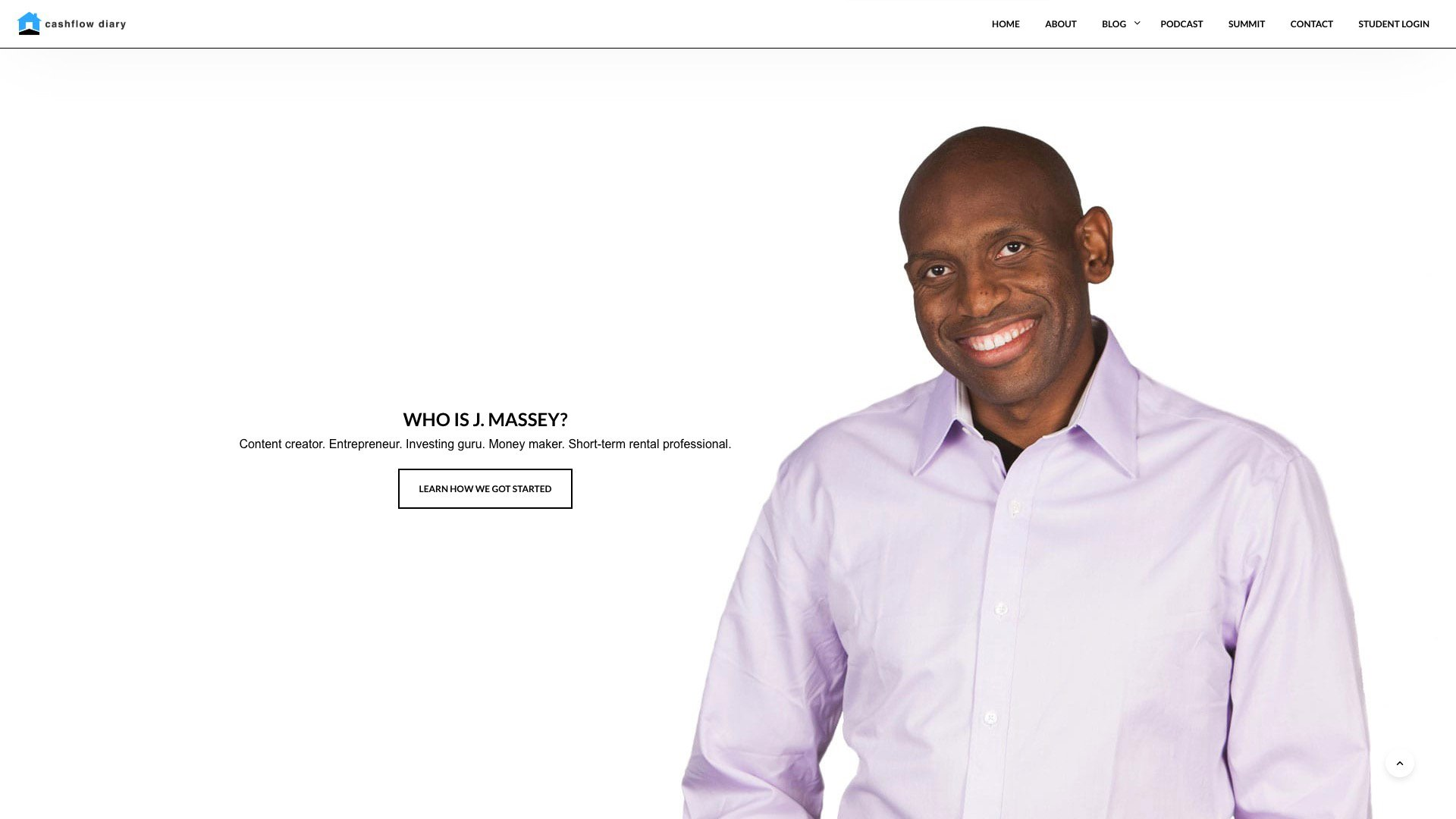 Cashflow Diary Website Featured Image