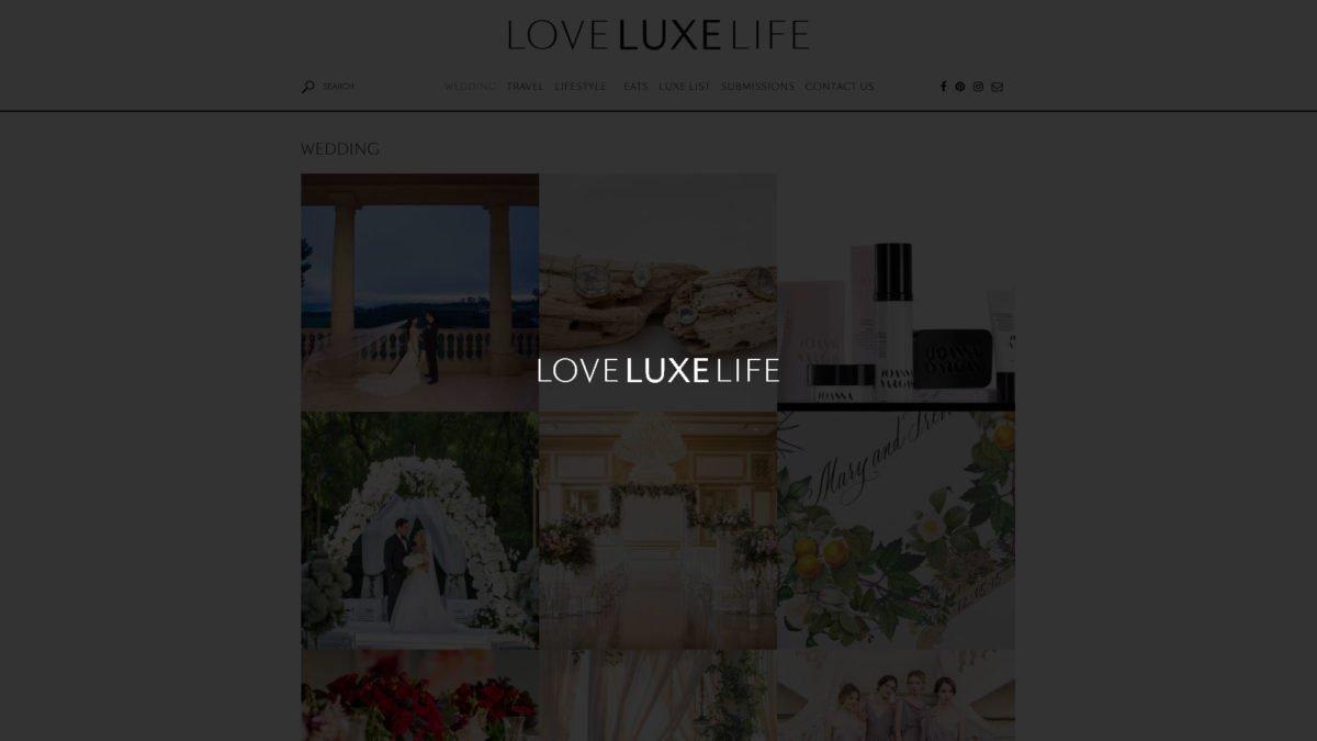 Love Luxe Life Website